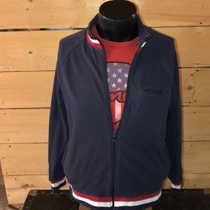 Merc reversible track jacket. Size L